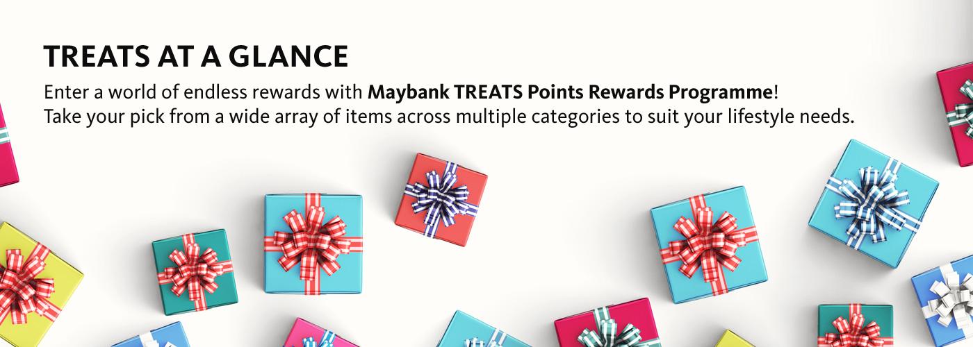 Landing Page - Maybank TREATS Points Rewards Portal